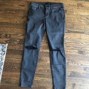 Joe's Vixen stretch jeans destroyed skinny ankle